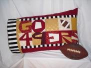 """GO 49ERS"" Pillowcase"
