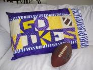 """GO VIKES"" Pillowcase"